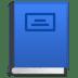 📘 blue book Emoji on Google Platform
