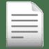 📄 page facing up Emoji on Google Platform