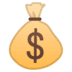 💰 money bag Emoji on Google Platform