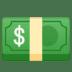 💵 Dollar Banknote Emoji on Google Platform