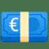 💶 Euro Banknote Emoji on Google Platform