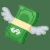 💸 money with wings Emoji on Google Platform