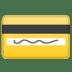 💳 credit card Emoji on Google Platform