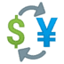 💱 currency exchange Emoji on Google Platform