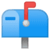 📫 closed mailbox with raised flag Emoji on Google Platform