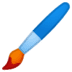 🖌️ paintbrush Emoji on Google Platform