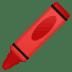 🖍️ crayon Emoji on Google Platform