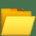 📂 open file folder Emoji on Google Platform