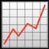 📈 chart increasing Emoji on Google Platform