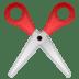 ✂️ scissors Emoji on Google Platform