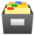 🗃️ card file box Emoji on Google Platform