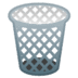 🗑️ wastebasket Emoji on Google Platform