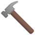 🔨 hammer Emoji on Google Platform