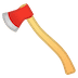 🪓 axe Emoji on Google Platform