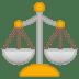 ⚖️ balance scale Emoji on Google Platform