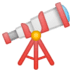 🔭 telescope Emoji on Google Platform