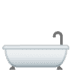 🛁 Bathtub Emoji on Google Platform