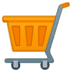 🛒 Shopping Cart Emoji on Google Platform