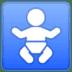 🚼 baby symbol Emoji on Google Platform