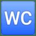 🚾 water closet Emoji on Google Platform