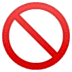 🚫 prohibited Emoji on Google Platform