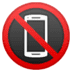 📵 no mobile phones Emoji on Google Platform