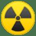 ☢️ radioactive Emoji on Google Platform