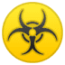☣️ biohazard Emoji on Google Platform