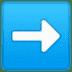 ➡️ Right Arrow Emoji on Google Platform