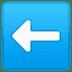 ⬅️ left arrow Emoji on Google Platform