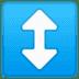 ↕️ up-down arrow Emoji on Google Platform