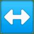 ↔️ left-right arrow Emoji on Google Platform
