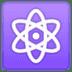 ⚛️ atom symbol Emoji on Google Platform