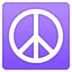 ☮️ peace symbol Emoji on Google Platform