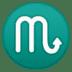 ♏ Scorpio Emoji on Google Platform