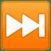 ⏭️ next track button Emoji on Google Platform