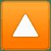 🔼 upwards button Emoji on Google Platform