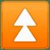 ⏫ fast up button Emoji on Google Platform