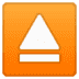 ⏏️ eject button Emoji on Google Platform