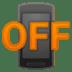 📴 mobile phone off Emoji on Google Platform