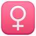 ♀️ Female Sign Emoji on Google Platform