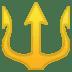🔱 trident emblem Emoji on Google Platform
