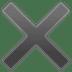 ✖️ multiplication sign Emoji on Google Platform