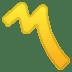 〽️ Part Alternation Mark Emoji on Google Platform