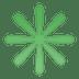 ✳️ eight-spoked asterisk Emoji on Google Platform