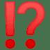 ⁉️ exclamation question mark Emoji on Google Platform