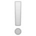 ❕ White Exclamation Mark Emoji on Google Platform