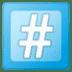 #️⃣ keycap: # Emoji on Google Platform
