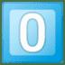 0️⃣ keycap: 0 Emoji on Google Platform
