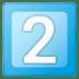 2️⃣ keycap: 2 Emoji on Google Platform